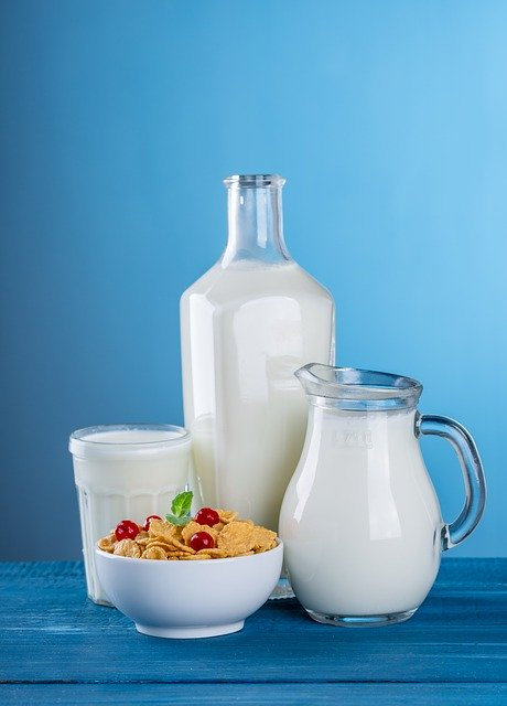 Drink milk to get your daily calcium